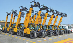 low emission scissor lifts and telehandlers